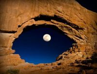 Window to the moon