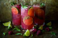 Raspberry-Mojitos
