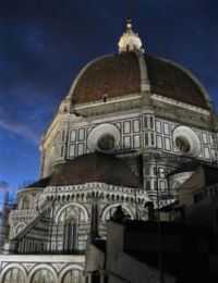 Brunelleschi's Duomo at Night