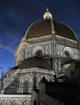 Brunelleschi's Duomo at Night
