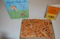 EDIBLE BOOK: Where's That Cat?/Animal Camouflage