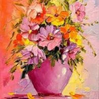 Darchuk: A Bouquet of Flowers in a Vase