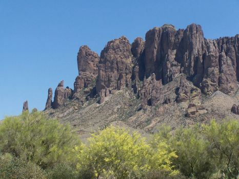 Near Apache Junction, Arizona