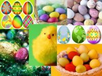 Easter Egg Collage