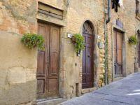 Volterra, Italy doorways