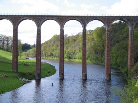 Leaderfoot Viaduct (Scotland)