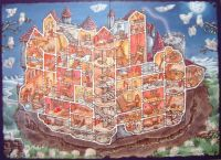 """Ghost Chase in Canterville Castle"" gameboard"