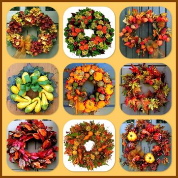 Fall Wreaths!  (big)