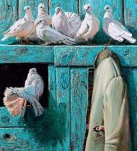 """Cozy Pigeon Hangout"""