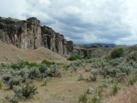 High Desert in the Owyhee River Country in Eastern Oregon