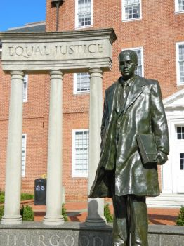 Thurgood Marshall Statue