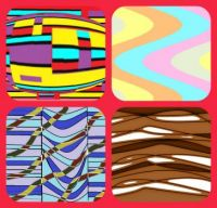 collage of different stripes