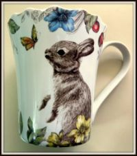 Cute rabbit cup