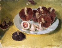 William Nicholson Mushrooms 1940