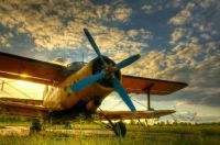 Vintage Airplane - Russian AN-2