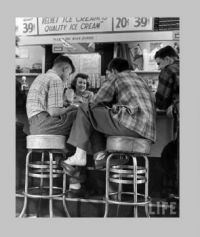 Drugstore Soda Fountain - circa 1960