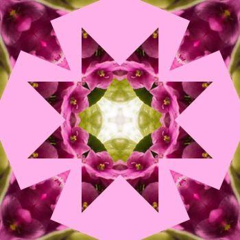 New Theme Sunday -  Kaleidoscopes, Mosaics, Pretty Abstract Images  (1 Canada Day)