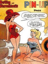 Betty Veronica pin-up
