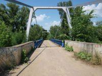 Řeka Dyje -most v Bulharech