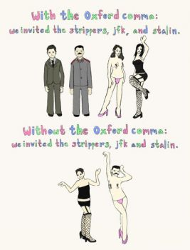 The importance of the Oxford comma in one simple diagram