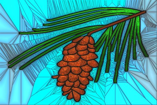 Solve Maine White Pine Cone and Tassel jigsaw puzzle online with ...