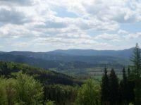 In the distance is seen Praděd ...