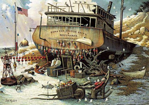 Where the Buoys Are by Charles Wysocki