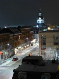 Winter downtown Kingston Ontario