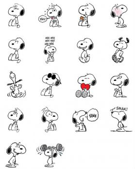 Solve Snoopy Bleh Jigsaw Puzzle Online With 80 Pieces