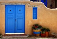 The Blue Door Taos, New Mexico
