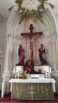 Waren, Altar der Marienkirche