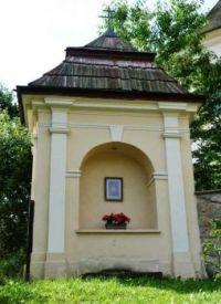 Výklenková kaplička na Plzeňsku
