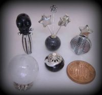Crafts - Dolls Houses - 12th Scale Witch Halloween Set - Black (Small)
