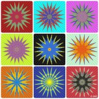 Stars From Chrissie's Simple Patterns