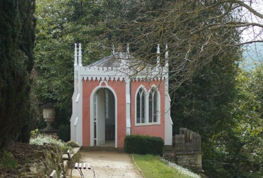 The Eagle House, Painswick Rococo Gardens