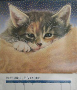 Calendar kitties December 2019