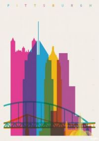 Shapes of Cities: Pittsburgh