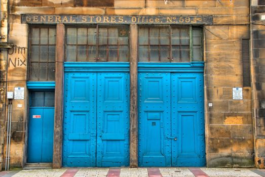 glasgow blue doors