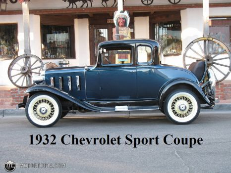 1932 Chevrolet Sport Coupe