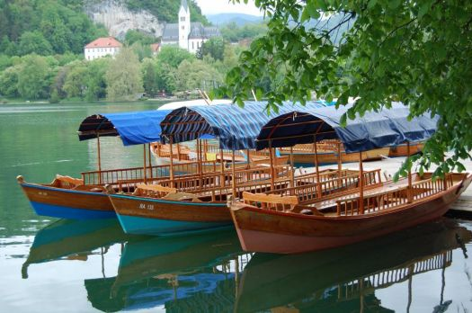 Lake Bled Boats
