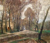 By the Artist's Studio, Prater 1907