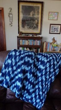 The Afghan I've been crocheting