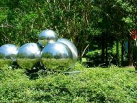 Reflections in Giant Gazing Balls