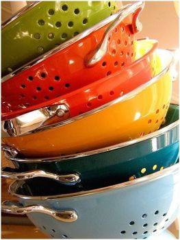 Colorful Colanders