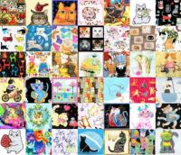 PATCHWORK CATS 14