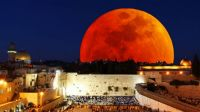 Blood Moon over Jerusalem