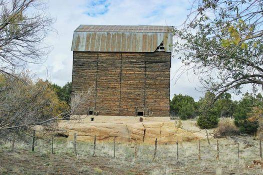 Barn in Southern Utah by Curtis Allen