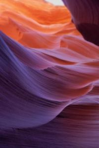 Colorful Curves - Antelope Canyon