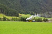Train in the Austrian Alps