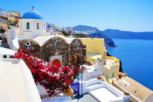Picturesque Greece